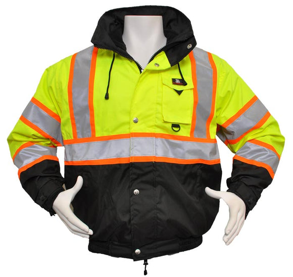 3 Season Waterproof Thermal Jacket with Removable Liner and National CERT Logo