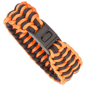 Teton Paracord Bracelet - Blaze Orange / Black