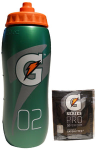 Gatorade Pro Squeeze Bottle 20oz with Sample