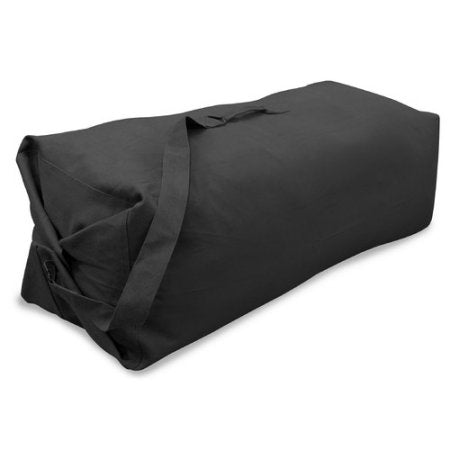 Duffel Bag with Strap - Black - 25