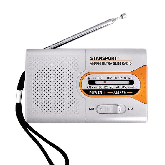Emergency AM/FM Radio