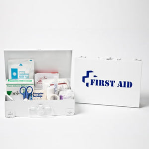 First Aid - 25 Steel Kit