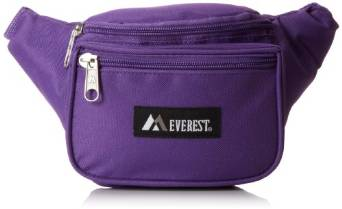 Everest Signature Waist Pack - Standard - Dark Purple