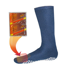 1510 - Heated Slipper Socks - 1 Pair