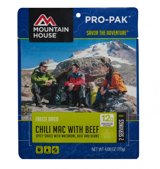 Chili Mac with Beef - PRO-PAK - Case (6 Pouches)