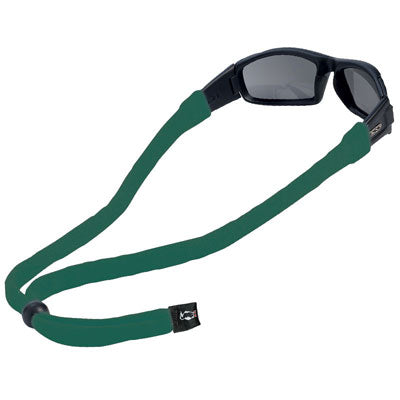 Original Cotton Large End Eyewear Retainers - Dark Green