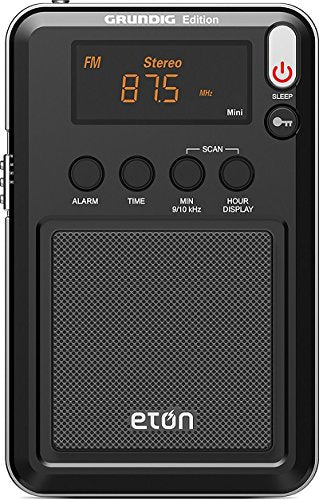 Eton- Mini Compact AM/FM/Shortwave Radio