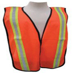 "All-Purpose Tight Mesh Vest - 2"" PVC Stripes"