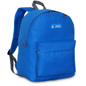 Everest Luggage Classic Backpack - Royal Blue