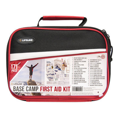 Lifeline Base Camp First Aid Kit- 171 Piece