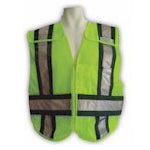 5-Point Breakaway Mesh Safety Vest - EMS Rated