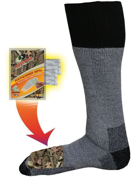 M202 - Mossy Oak Merino Wool Socks - Pair
