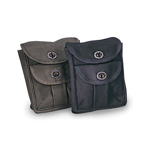 2 Pocket Ammo Pouch - Black