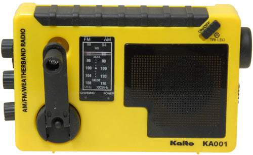 KA001 - Dynamo Radio with Flashlight