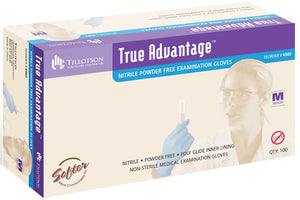 True Advantage Nitrile Exam Gloves - Powder-free