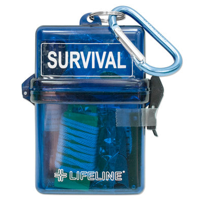 Lifeline Glove Box Survival Kit - 13 Piece