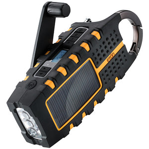 Eton - Scorpion Solar-Powered Radio with Carabiner