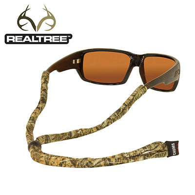 Original Cotton Standard End Eyewear Retainers - RealTree Max-4
