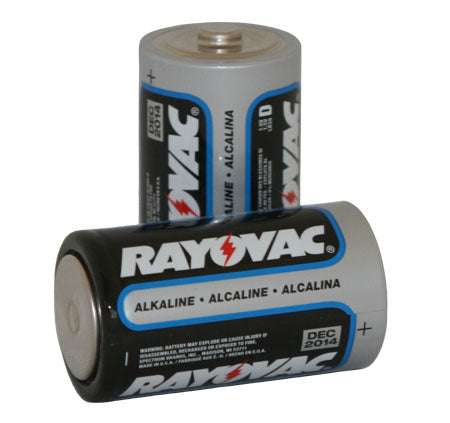 D-Cell Batteries (2 pack)