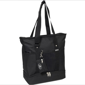 Everest Luggage Deluxe Shopping Tote - Black