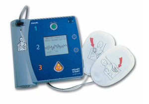 Philips FR2 AED Unit w/ ECG