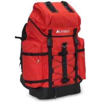 Everest Hiking Backpack - Red