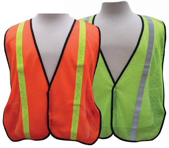 A1200 - All-Purpose Mesh Vest - 1 inch PVC stripe