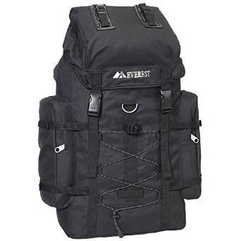 Everest Hiking Backpack  - Black