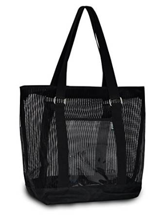 Everest Mesh Shopping Tote  - Black