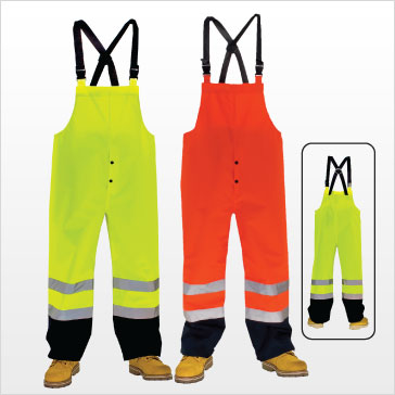 3A Safety - Waterproof Bib Pants