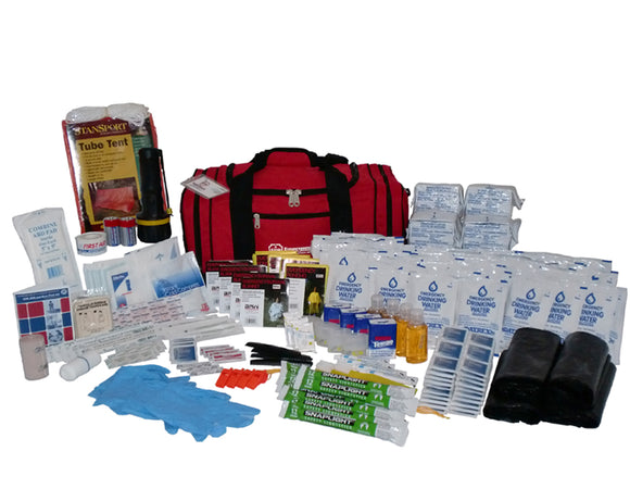 72 Hour Survival Kit - 4 Person - 3 Day Emergency Disaster Kit