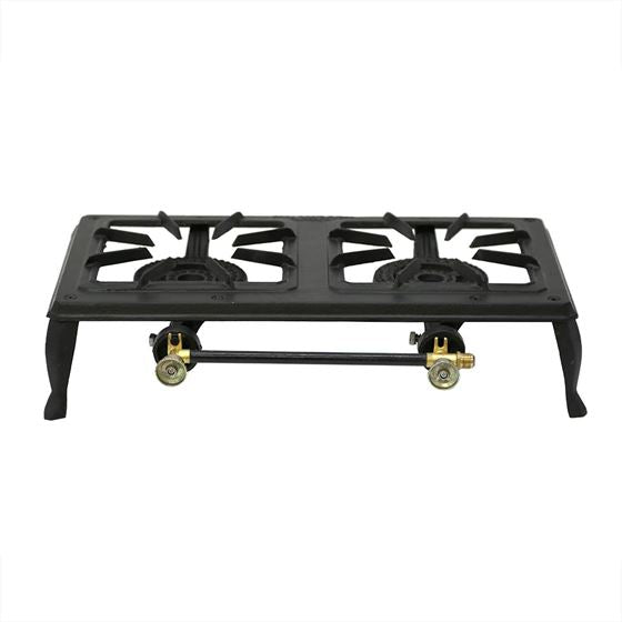 Cast Iron Stove - Double Burner