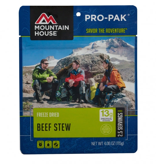 Beef Stew  PRO-PAK ase (6 Pouches) (Discontinued )