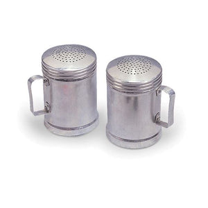 Aluminum Salt -N- Pepper Shakers