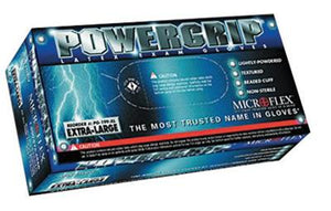 Microflex PowerGrip Lightly Powdered Premium Latex Gloves (100 Each Per Box)