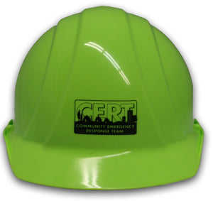 Americana 4-Point Safety Helmet with CERT logo