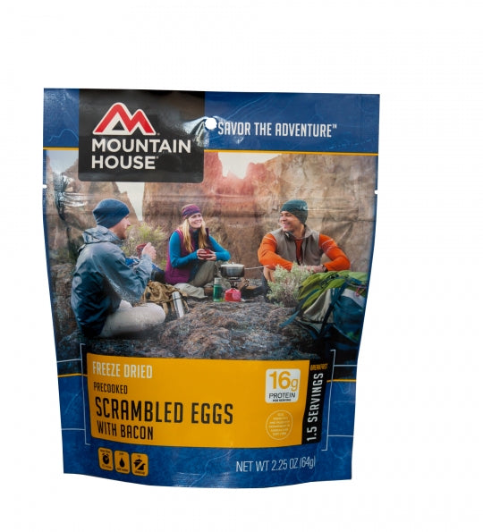 Scrambled Eggs with Bacon - Case (6 Pouches)