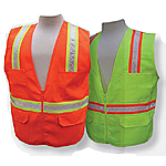 Multi-Pocket Surveyor's Vest - Solid Front/Back