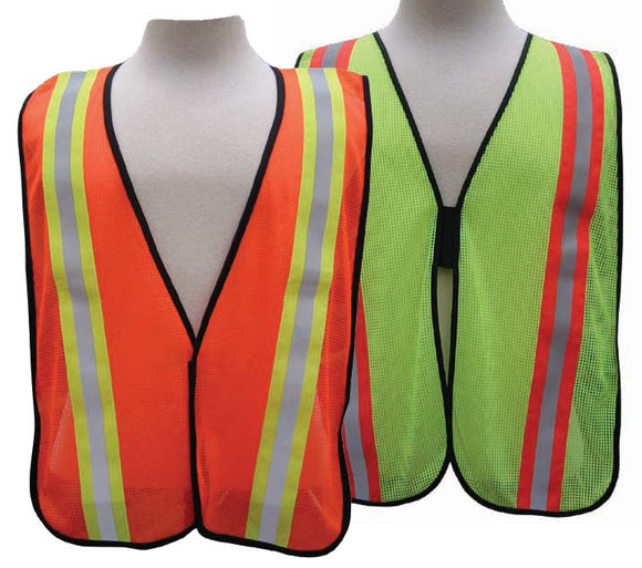 All-Purpose Mesh Vest - 2 inch wide PVC stripe