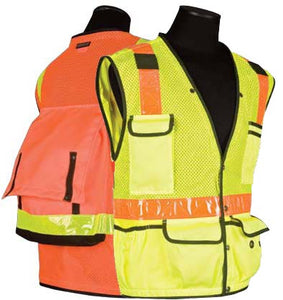 Surveyors Series DuraTuff / Ultra-Cool Mesh Safety Vest - Class 2