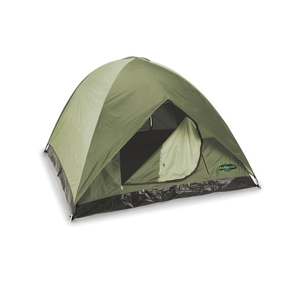 Trophy Hunter Tent-7FT X 7FT X 54in-Dark Olive/Tan