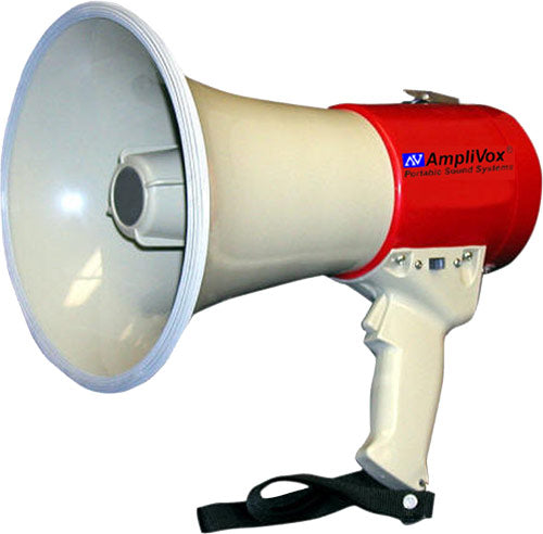 Piezo Dynamic Megaphone with Siren & Whistle - 900 Yard Range