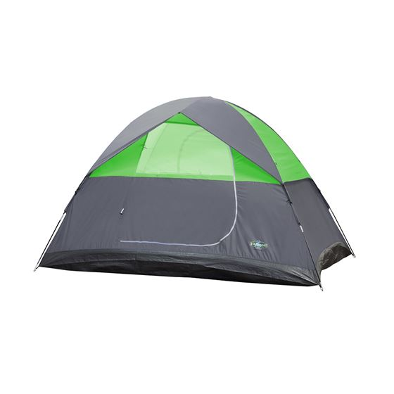 3 Season Tent-8FT x 7FT x 54IN - Green W/Grey Trim