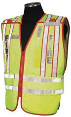 Professional Fire Dept. Personnel Safety Vest