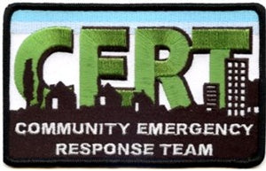 CERT Embroidered Patch
