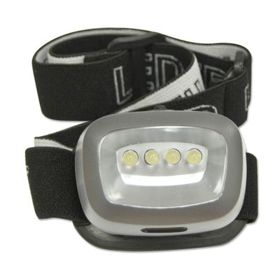 Lifeline 9 LED Flashlight/2-4 LED Headlamp Combo