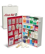 4 Shelf Large Industrial First Aid Kit w/Liner