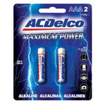 AC Delco - AAA Maximum Power Alkaline Battery - 2 Pack