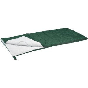 Stansport Redwood Ultra Light Sleeping Bag (Green, 55-Degree)