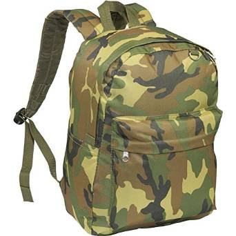 Everest Luggage Classic Backpack - Jungle Camo